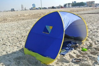 Sunsense beach tent