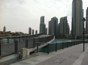 Burj Park footbridge