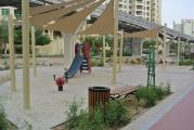 Play area Al Ittihad Park Palm Jumeirah Dubai