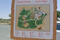 Map of Mushrif Park Dubai