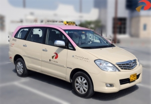 Dubai ladies taxi