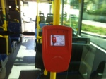 Red card swipe Dubai Bus